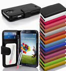 PU Leather Smart Phone Protection Cover with MIRROR and Card Slots Case Wallet