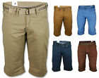 Mens Shorts Kangol 3 4 Jeans Bottoms Chino Designer Belted Cotton Casual Summer