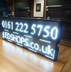 LARGE LED SIGN DISPLAY SCROLLING DIGITAL PROGRAMMABLE MOVING MESSAGE- 133 X 53cm
