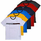 Tommy Hilfiger Mens Crew Neck T-Shirt Short Sleeve Graphic Tee Flag Logo New