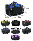 Внешний вид - Duffle Duffel Bag Sport Travel Carry-On Workout Gym Red Black Blue Gold Gray 17""