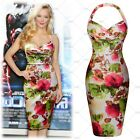 Miusol 2015 Womens Sexy Tropical Hawaiian Halter Summer Party Dress Sunset S-2XL