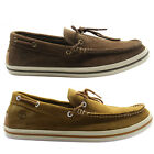Timberland Suede Casco Bay 1 Eye Boat Shoes Mens Slip On 5647R 5236A U64 Brown