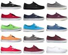 Внешний вид - Vans Authentic Era Classic Sneakers Canvas Mens Women Off The Wall Laces