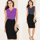 VINTAGE 50'S ROCKABILLY OFFICE Lady PENCIL WIGGLE PIN UP Evening PARTY DRESSES