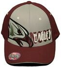 NEW!!  North Carolina Eagles  Stretch Fitted Cap/Embroidered Hat -One Size M/L