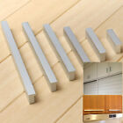 New Solid Extended Space Aluminum Wardrobe Cabinet Knob Drawer Door Pull Handle