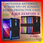 DEFENDER ANTISHOCK HYBRID TPU+PC RUGGED ARMOR CASE & STAND for ASUS ZENFONE 2