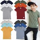 "Vaenait Baby 2T-7T Clothes Toddler Kids V Neck Top Boys T-Shirt ""Short T 3set"""