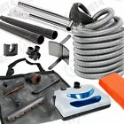 30' Electric Central Vacuum Kit Powerhead, Electric Hose & Tools for Hoover