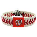 MLB Classic Baseball Bracelet (Choose Your Favorite Team) Leather Stitch