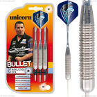 Unicorn - Gary AndersonBullet - Stainless Steel Darts Set - 22g, 24g or 26g