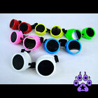 PAWSTAR Mad Scientist Plastic Cyber Steampunk Goggles Cosplay Costume