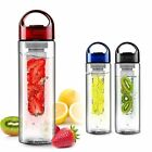 700ML Fruit Infusing Infuser Water Lemon Juice Bottle Sports - BPA Free