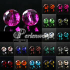ca.72Pcs 10mm DIY Crystal 5003 Disco Ball Loose Beads Jewelry Making Pearls