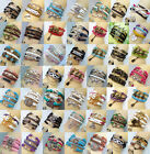 Hot DIY Jewelry fashion lots Style Leather Cute Infinity Charm Bracelet U pick