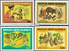 papua-Guinea 435-438 fine used / cancelled 1982 Leensmittel