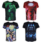 Hulk Iron Man Assassination Classroom Star Wars Short Sleeve Sports T-Shirt