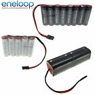 4.8v 6v 7.2v 9.6v Panasonic Eneloop AA & AAA Receiver / Transmitter Battery Pack