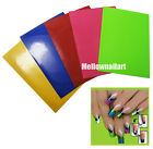 HOT  45 Tips French Smile Line Nail Stickers Layers Tip Guide 3D Nail Art Tools
