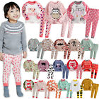 """48 Style"" Vaenait Baby Kids Infant Toddler Girls Long Clothes Pajama Set 12M-7T"