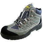 Northwest Morley  Mens Leather Work Boots Safety Steel Toe Cap Trainers