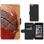 Cell Phone Card Slot PU Leather Wallet Case For Apple iPhone Cockroach