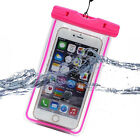 Univeral for Cell Phone PDA MP3 Fluorescent Waterproof Dry Pouch Bag Case Cover