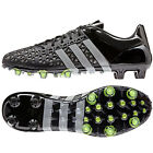 adidas Ace 15.1 FG/AG  Men's Soccer Cleats Football Shoes Black/Silver