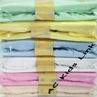 New Terry Fitted Sheet Pram / Cot / Cotbed Fitted Sheets Baby Boys Girls