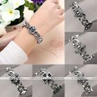 1pc Men Women Alloy Sea Anchor Pirate Skull Animal Chain Link Bracelet Jewelry