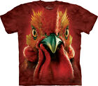 The Mountain Rooster Cockerel Head Chicken Adult T-Shirt PRINT IN USA Cock MT59