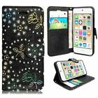 For Various Apple iPhone Phones PU Leather Book Side Flip Case Cover + Stylus <br/> iPhone 7,7 plus 4 4S 5 5S  6 6S ,6 Plus,Touch 5th/6TH