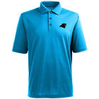 Men's Carolina Panthers Pique Xtra Lite Desert Dry; Moisture Management Polo