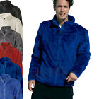 JAMES & NICHOLSON - Men's Highloft Fleece Jacket S M L XL XXL XXXL Fleecejacke