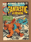 Fantastic Four King-Size #9 - Lo, There Shall Be An End! - 1971 (Grade 6.5) WH