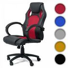 Office Chair Executive Racing PU Computer Adjustable Gaming Armrest Chair MY SIT