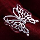 New 925 Sterling silver fashion beautiful butterfly ring jewelry size 7 & 8