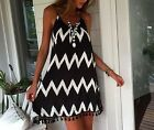 2015 Womens Sexy Sleeveless Party Evening Cocktail Summer Beach Short Mini Dress