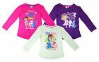 Girls Doc McStuffins Sunny Days Long Sleeve Crew Neck Top 3 4 5 6 Years NEW