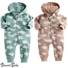 "NWT Vaenait Baby 6-24M Infant Hooded One-pieces Romper Jumpsuit""Hoodie Cloud"""