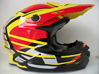 ACERBIS YELLOW RED MOTOCROSS ENDURO SUPERMOTO (Sz M/L) DOT APP RM RMZ DRZ CR CRF