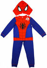 Boys Marvel SPIDERMAN Novelty Costume Pyjamas with Hood 2 to 8 Years NEW