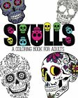 NEW Skulls: An Adult Coloring Book by Pink Ink Designs