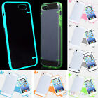 Clear Transparent Case Cover Noctilucent Luminous Glow For iPhone 4 5 6/ 6 Plus