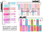 Maybelline Baby Lips GLOSS x 4 You Choose Colors Shimmers Creams or Jellies NEW!