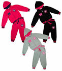 Girls Princess 06 Logo Hooded Jogging Suit Tracksuit Set 2 to 16 Years NEW