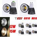 12W 15W GU10 E27 LED High Power Bulb Lamp Warm Cool White Spotlight Downlight XG