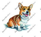 Pembroke Welsh Corgi Dog Lover Home Office Room Camp Decor Decal Wall Art Gift