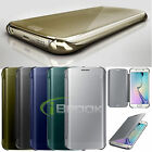 Luxury Mirror Clear View Slim  Case Cover for Samsung Galaxy S6/S6 Edge Note5